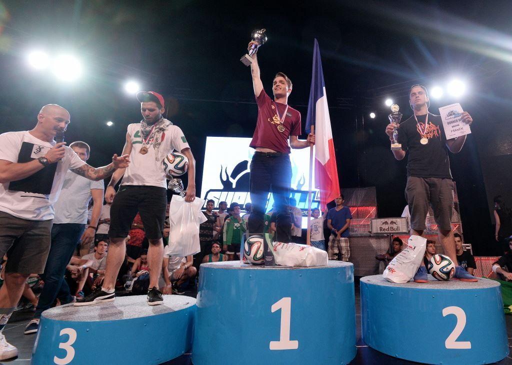 Gautier Fayolle Champion du Monde pour la 4ème fois !