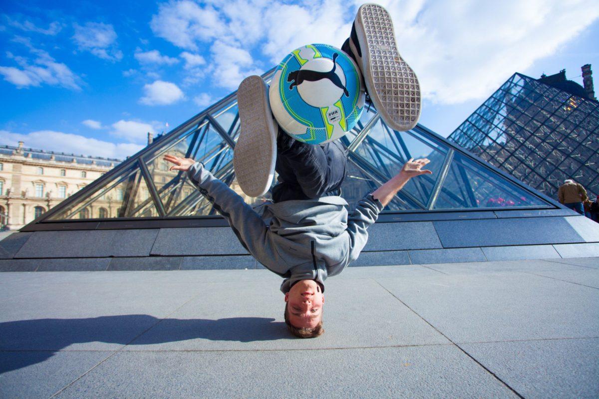 Freestyle Football à Paris