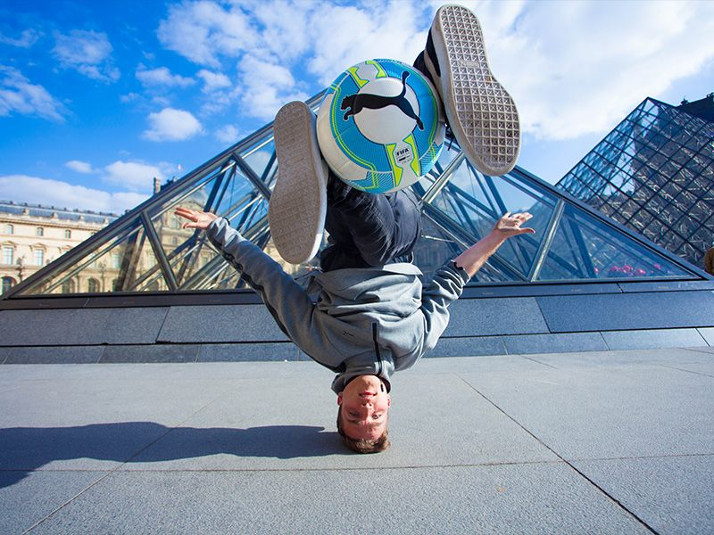 photos de freestyle football